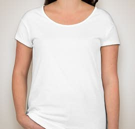 Alternative Apparel Ladies Relaxed T-shirt - Color: White