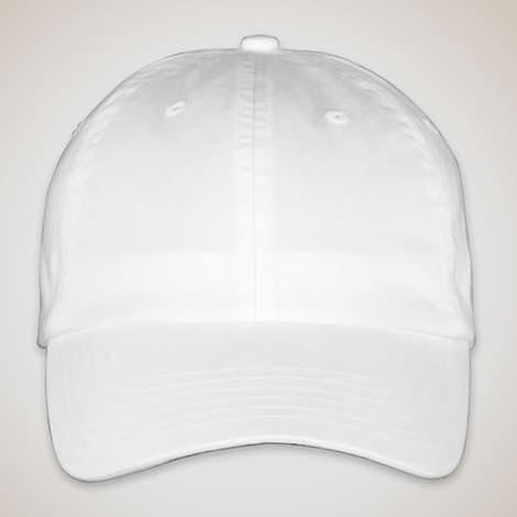 Valucap Bio-Washed Hat - White