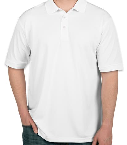 Ultra Club Pique Performance Polo - White