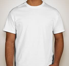 Gildan 100% Cotton T-shirt - Color: White