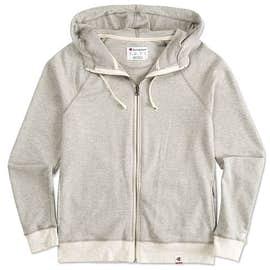 Champion Authentic Ladies French Terry Zip Hoodie