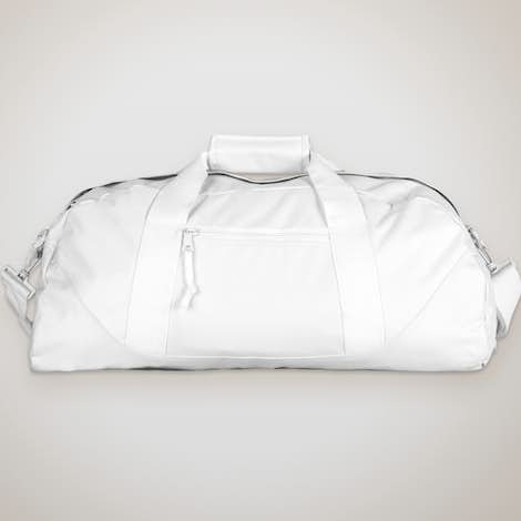 Liberty Bags Large Duffel Bag - White