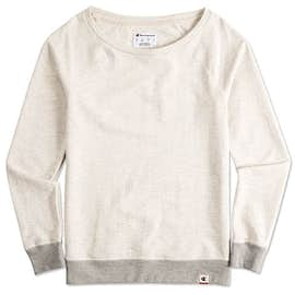 Champion Authentic Ladies French Terry Crewneck Sweatshirt