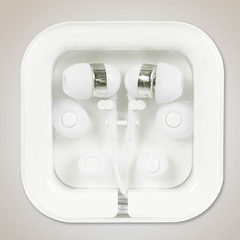 Color Pop Earbuds - White