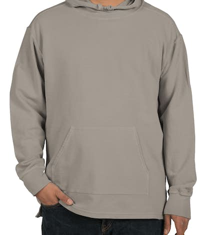 Comfort Colors French Terry Scuba Pullover Hoodie - Grey