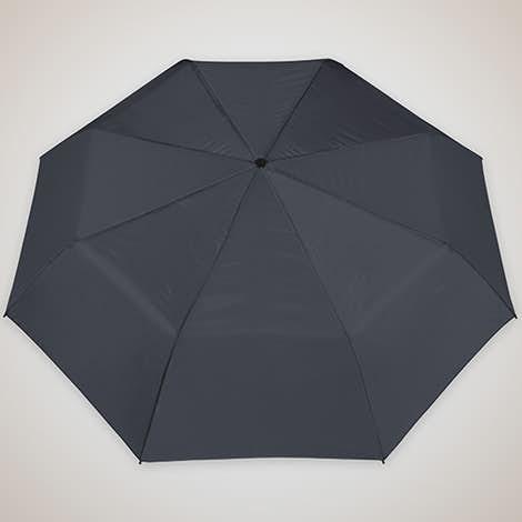 """Arc Budget Solid Telescopic 42"""" Umbrella - Navy"""