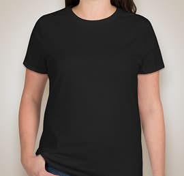 Hanes Ladies Nano-T - Color: Black