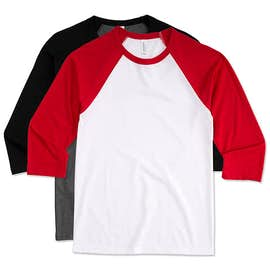 Bella + Canvas Lightweight Baseball Raglan