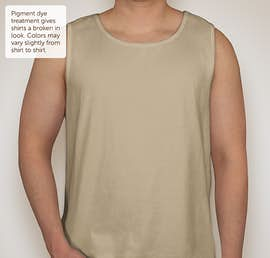 Comfort Colors 100% Cotton Tank - Color: Sandstone