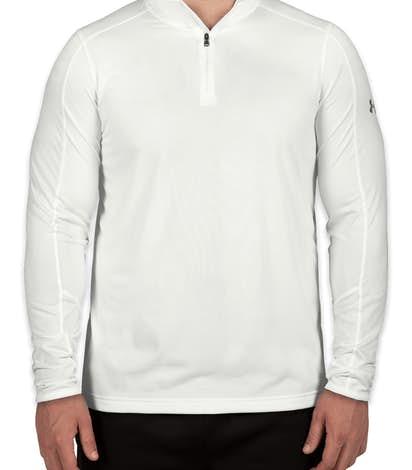Under Armour Tech Quarter Zip Shirt - White