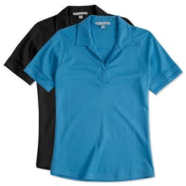 Port Authority Ladies Silk Touch Interlock Jersey Polo