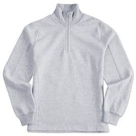 Sport-Tek Premium Ladies Quarter Zip Sweatshirt