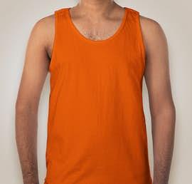 Gildan Ultra Cotton Tank - Color: Orange