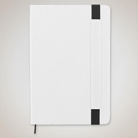 Charlotte Bound Notebook - White
