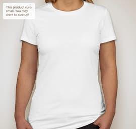 Canada - Bella Juniors Favorite T-shirt - Color: White
