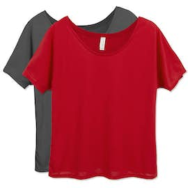Bella Ladies Flowy T-shirt