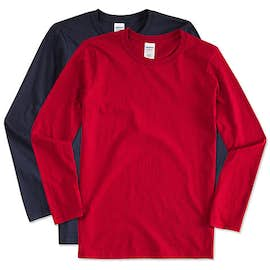 Canada - Gildan Softstyle Long Sleeve Jersey T-shirt