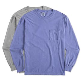 Comfort Colors Long Sleeve Pocket T-Shirt