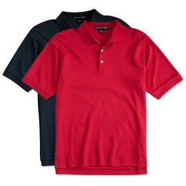 Devon & Jones Pima Interlock Polo