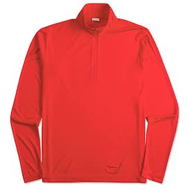 Sport-Tek Posicharge Competitor Quarter Zip Performance Shirt