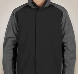 Core 365 Colorblock Fleece Lined All-Season Jacket - Color: Black / Carbon
