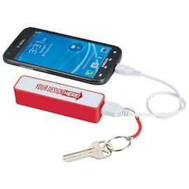 Jive 2,000 mAh Power Bank with Keychain