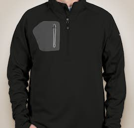 Eddie Bauer Half Zip Performance Pullover - Color: Black