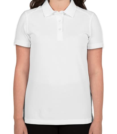 Cutter & Buck Ladies Advantage Charged Cotton Polo - White