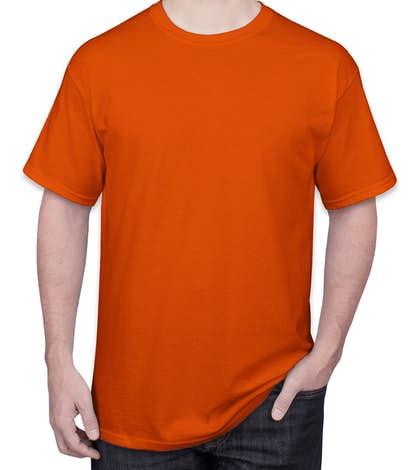 Design Custom Printed Port Company Cotton T Shirts
