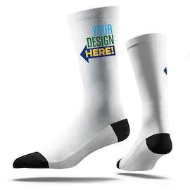 White Value Crew Socks