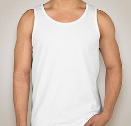 Anvil Jersey Tank - Color: White