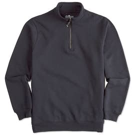 Charles River Pocket Quarter Zip Sweatshirt