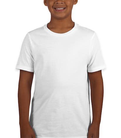 Next Level Youth Jersey T-shirt - White