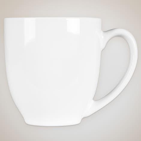 14 oz. Bistro Mug - White