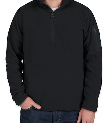 Marmot Reactor Half Zip Microfleece Pullover - Black