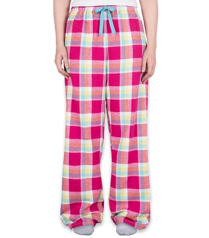 Boxercraft Juniors Flannel Pajama Pants - Caribbean Crush
