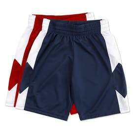 Augusta Youth Colorblock Basketball Shorts