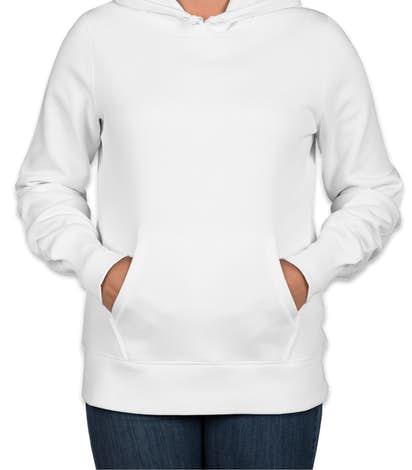 Sport-Tek Premium Ladies Pullover Hoodie - White