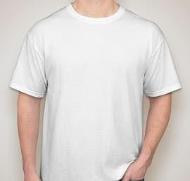 Gildan 50/50 T-shirt - Color: White