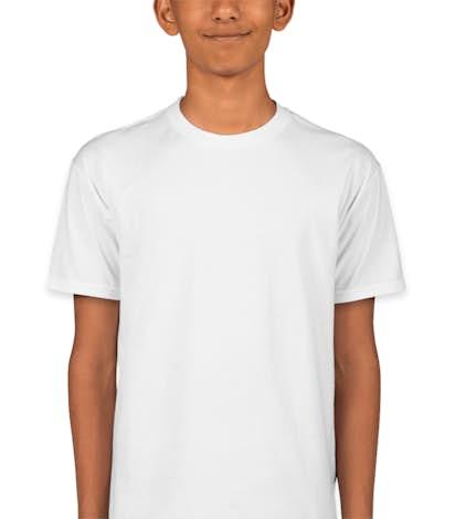 Hanes Youth Nano-T - White