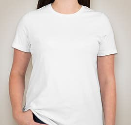 American Apparel Ladies Jersey T-shirt - Color: White