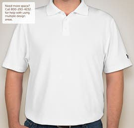 Under Armour Performance Polo - Color: White