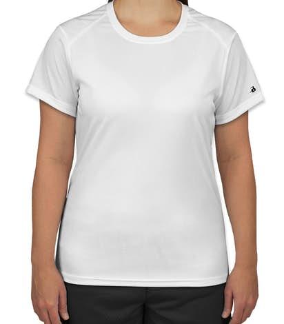 Badger B-Dry Ladies Performance Shirt - White