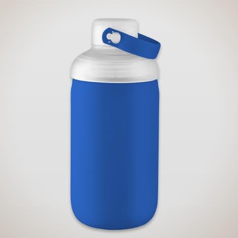 20 oz. Poppi Glass Water Bottle - Blue