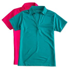Port Authority Ladies Silk Touch Performance Polo - Screen Printed