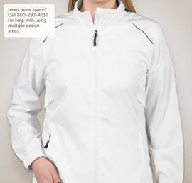 Core 365 Ladies Lightweight Full Zip Jacket - Color: White
