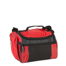 Colorblock Zip-Top 8 Can Lunch Cooler