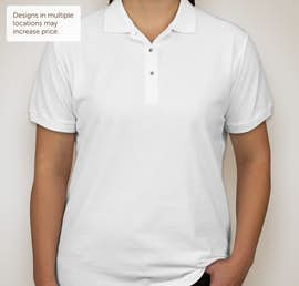 Port Authority Ladies Silk Touch Polo - Color: White