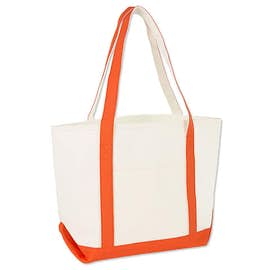 Premium Medium Cotton Boat Tote