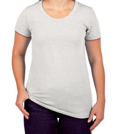 Canada - Bella Juniors Tri-Blend T-shirt - White Fleck Tri-Blend